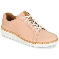 Cipők Női Oxford cipők Clarks Amberlee Rosa Bőrszínű / Nubuk