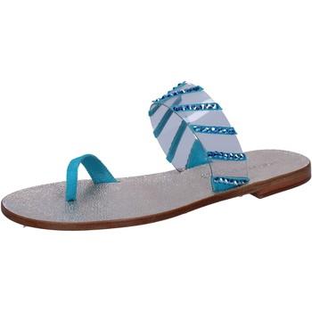 Cipők Női Szandálok / Saruk Eddy Daniele AW487 Kék