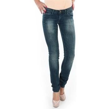 Ruhák Női Skinny farmerek Wrangler Spodnie  Molly 251XB23C niebieski