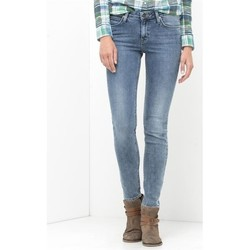 Ruhák Női Skinny farmerek Lee Jeansy  Scarlett Skinny L526WMUX niebieski