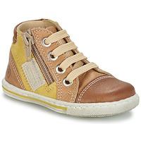 Cipők Gyerek Magas szárú edzőcipők Citrouille et Compagnie MIXINE Barna
