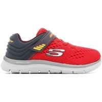 Cipők Gyerek Rövid szárú edzőcipők Skechers Skech-Lite-Micro 95054N-RDCC czerwony