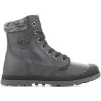 Cipők Női Csizmák Palladium Manufacture Pampa Hi Knit  LP 95172-036-M szary