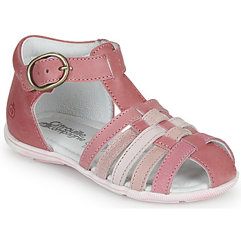 Shoes Lány Szandálok / Saruk Citrouille et Compagnie VISOTU Rózsaszín / Sokszínű