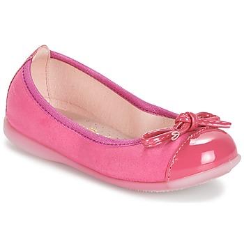 Cipők Lány Balerina cipők / babák Citrouille et Compagnie MIXOUBET Fukszia
