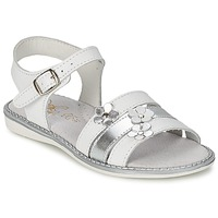 Shoes Lány Szandálok / Saruk Citrouille et Compagnie KATAGUE Fehér
