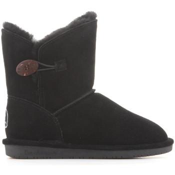Cipők Női Hótaposók Bearpaw Buty zimowe  Rosie 1653W-011 Black II czarny