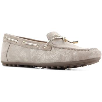 Cipők Női Rövid szárú edzőcipők Geox D Leelyan A - SHI.Suede D724RA 00077 C2005 brązowy