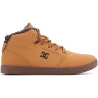 Cipők Férfi Magas szárú edzőcipők DC Shoes DC CRISIS WNT ADBS100116 WD4 brązowy