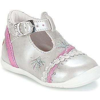 Cipők Lány Balerina cipők  GBB MARINA Vte / Ezüst-fukszia / Dpf / Kezia