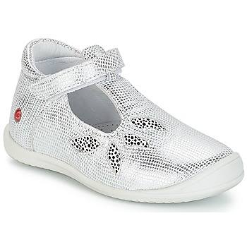 Cipők Lány Balerina cipők / babák GBB MARGOT Vte / Ezüst / Dpf / Zafra