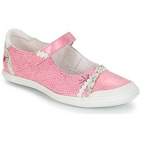 Cipők Lány Balerina cipők  GBB MARION Vte / Rózsaszín-fehér / Dpf / Zara
