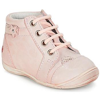 Cipők Lány Csizmák GBB PRIMROSE Vte / Rózsaszín / Bőrszínű / Dpf / Kezia