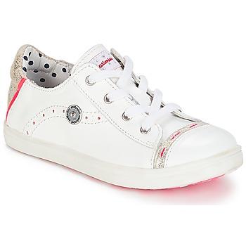 Cipők Lány Rövid szárú edzőcipők Catimini PANDA Vte / Fehér / Dpf / Vénusz
