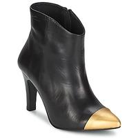 Cipők Női Bokacsizmák Pastelle ARIEL Fekete-arany