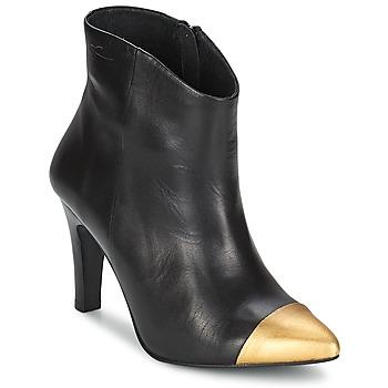 Shoes Női Bokacsizmák Pastelle ARIEL Fekete-Arany