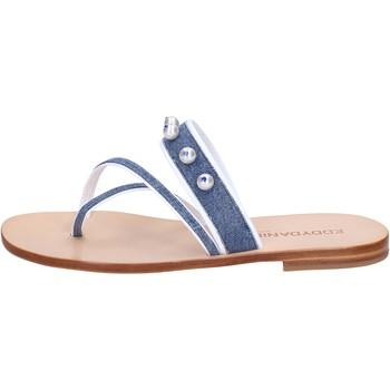 Cipők Női Szandálok / Saruk Eddy Daniele AW229 Kék