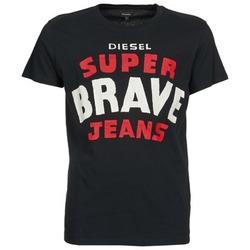 Ruhák Férfi Rövid ujjú pólók Diesel T-ASTERIOS Fekete