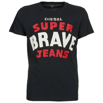 material Férfi Rövid ujjú pólók Diesel T-ASTERIOS Fekete