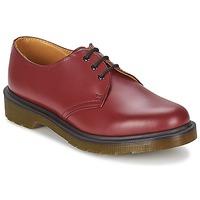 Cipők Férfi Oxford cipők Dr Martens 1461 PW Piros / Cseresznye