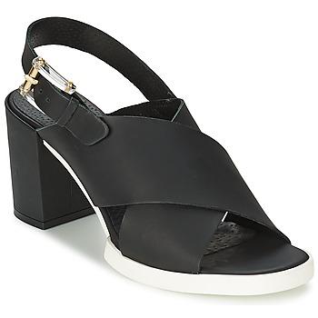 Cipők Női Szandálok / Saruk Miista DELILIAH Fekete
