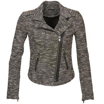 material Női Kabátok / Blézerek Ikks VERMILLION Fekete