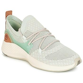 Cipők Női Rövid szárú edzőcipők Timberland FlyRoam Go Knit Chukka Kék / Virág