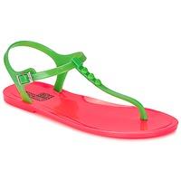 Cipők Női Szandálok / Saruk Love Moschino JA16381G0KJN180A Zöld / Rózsaszín