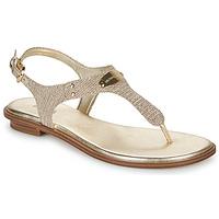 Cipők Női Szandálok / Saruk MICHAEL Michael Kors MK PLATE Arany