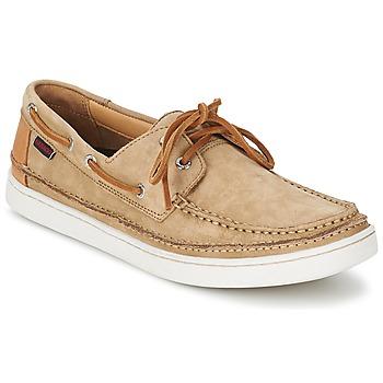 Shoes Férfi Vitorlás cipők Sebago RYDE TWO EYE Barna