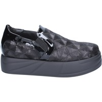 Cipők Női Belebújós cipők Jeannot BX129 Fekete