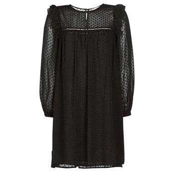 Ruhák Női Rövid ruhák Moony Mood BREYAT Fekete