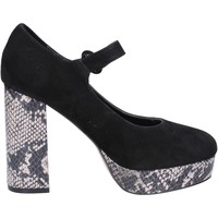 Cipők Női Félcipők Emanuélle Vee Dekoltált cipő BX384 Fekete
