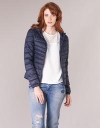 Ruhák Női Steppelt kabátok Only ONLTAHOE Tengerész
