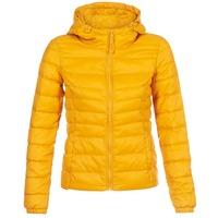 Ruhák Női Steppelt kabátok Only ONLTAHOE Citromsárga