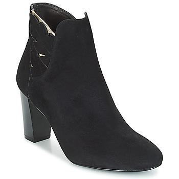 Cipők Női Bokacsizmák Bocage EMMANUEL Fekete