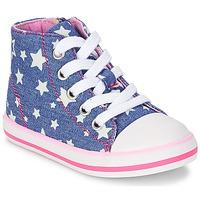 Cipők Lány Magas szárú edzőcipők Chicco CREMIXI Farmer / Csillag