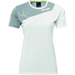 Ruhák Női Rövid ujjú pólók Kempa Maillot femme  Core 2.0 blanc/gris