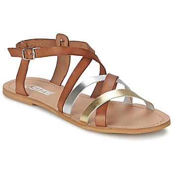 Cipők Női Szandálok / Saruk So Size AVELA Mogyoró