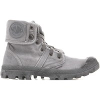 Cipők Férfi Magas szárú edzőcipők Palladium Baggy Titanium High Rise 02478-066-M szary