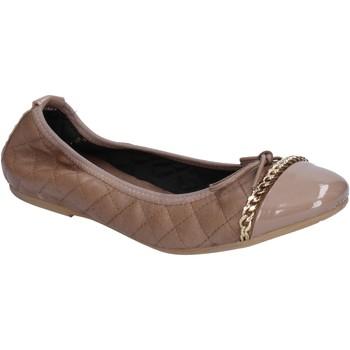 Cipők Női Balerina cipők  Crown balerina cipő BX639 Bézs