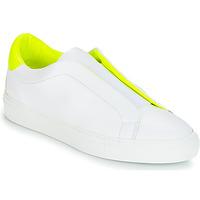 Cipők Női Rövid szárú edzőcipők KLOM KISS Fehér / Citromsárga
