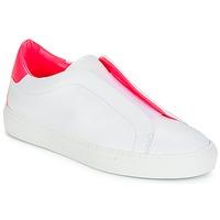 Cipők Női Rövid szárú edzőcipők KLOM KISS Fehér / Rózsaszín