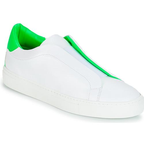 Cipők Női Rövid szárú edzőcipők KLOM KISS Fehér / Zöld