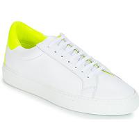 Cipők Női Rövid szárú edzőcipők KLOM KEEP Fehér / Citromsárga