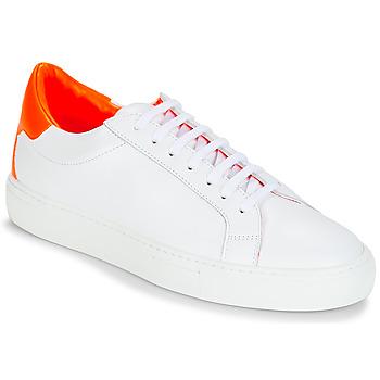 Cipők Női Rövid szárú edzőcipők KLOM KEEP Fehér / Narancssárga