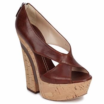Cipők Női Szandálok / Saruk Casadei ELEANORE Gesztenye