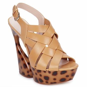 Cipők Női Szandálok / Saruk Casadei MAGGY Kellemes / Természetes