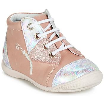 Cipők Lány Magas szárú edzőcipők GBB VERONA Rózsaszín