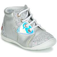 Cipők Lány Magas szárú edzőcipők GBB VERONA Ezüst